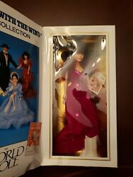 1989 Gone With The Wind Scarlett Oand039hara Red Gown World Doll Ltd Ed 71154
