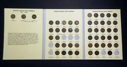 1857-1909 Indian Head W/ Flying Eagle Cent Collection Set 51 Coins