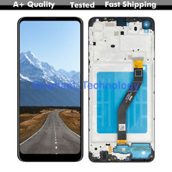 Qc For Samsung Galaxy A21 A215 Lcd Touch Screen Digitizer Replacement + Frame
