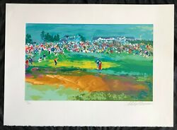 Leroy Neiman Home Hole Shinnecock Limited Edition Serigraph