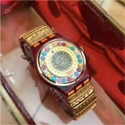Swatch 1994 Christian Lacroix New Unused Limited Model With Case Rare From Japan