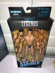 Namor the Sub Mariner Marvel Legends BLACK PANTHER OKOYE MINT