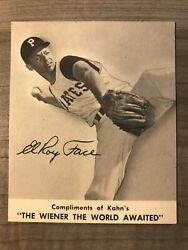 1959 Kahns Elroy Face Solid Ex No Creases