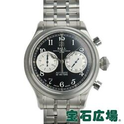 Ball Watch Train Master Cannonball Cm1052d-s1j-bk Menand039s From Japan [e1026]