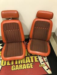 1969 Camaro Indy Pace Car Seats Freshly Reconditioned.