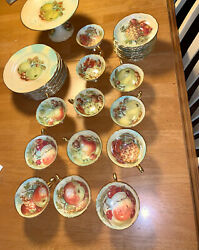 Hammersley And Co Automn Gold Bone 12pcs China Set - Complete
