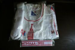 Full 4 Piece Outfit Of Moscow '80olympics Torch Bearer, Original Packing, Nwt