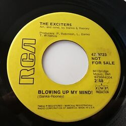 The Exciters - Blowing Up My Mind 7 Vinyl Single Rare Promo Demo Northern Soul
