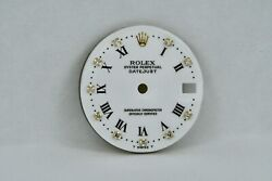 Rolex Factory Diamond Dial For Mid Size 31 Mm White Buckley