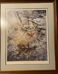 Kay Sharkeyand039s Pencil Hand Signed Lithograph Essence Of Spring Ltd Ed Mint