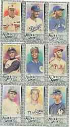 2020 Topps Allen Ginter Aamp;G Black Border Mini Near Set Lot w SPs 175 350