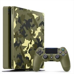 Sony Playstation 4 Console Call Of Duty World War Ii 2 Limited Edition Japan