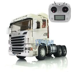 Lesu Rc Metal 1/14 64 Chassis Sound Scania R730 Rc Gripen Tractor Truck Radio