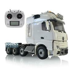 Lesu Truck Metal Chassis Radio Sound Light Rc 1/14 Hercules Actros Cabin Tractor