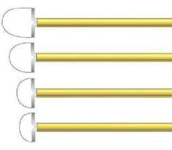 Coopersurgical Leep/lletz Electrode 8 X 20 Mm Tungsten Wire Large Loop Box Of 5