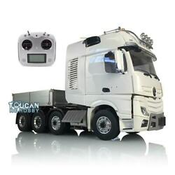Lesu Metal Chassis Truck Hopper Sound Rc 1/14 Hercules Actros Cab Tractor Radio