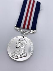 Premium Quality Replica Military Medal Mm British Made In Silver Die Struck
