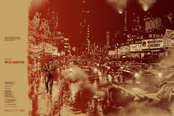 Taxi Driver By Martin Ansin - Rare Sold Out Mondo Print
