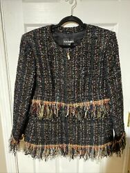 New With Tag 17a Jacket Tweeded Tulle Md046 Size 50