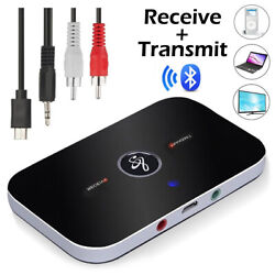 Bluetooth Transmitter amp; Receiver Wireless Adapter For Home stereos speakers