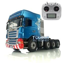 1/14 Lesu 88 Metal Chassis Rc Scania Tractor Truck Sound Hercules Cabin Radio