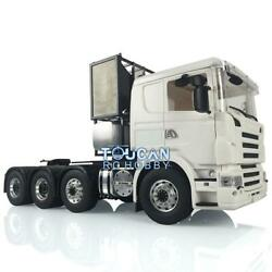 Lesu 1/14 Scale Metal Chassis 88 Scania Rc Tractor Truck Car Hercules Cabin
