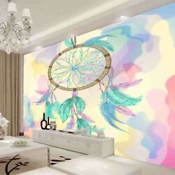 Blue Feather Campbell Full Wall Mural Photo Wallpaper Printing 3d Decor Kid Home