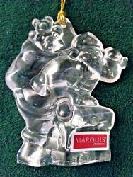 Marquis By Waterford Crystal Ornament Santa Claus 7th In Series 154426 Om16