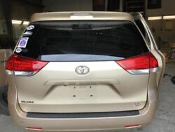 2011-2014 Toyota Sienna Trunk/hatch/tailgate Le W/back Up Camera Gold 1917990