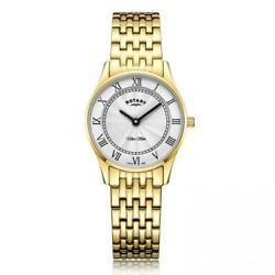 Ladies Rotary Ultra Slim Watch Lb08303/01 Rrp Andpound199.00 Our Price Andpound128.95