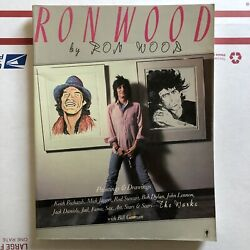 Andrsquoron Wood The Worksandrsquo By Ron Wood Autographed Rolling Stones