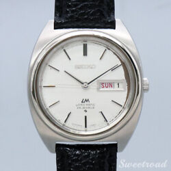 Seiko Lm Lord Matic Ref.5606-7140 Cal.5606a 1970 W-20385 From Japan N1101
