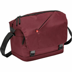 Manfrotto NX Messenger Camera Bag for DSLR CSC Bordeaux New in Bag $59.95