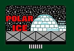 Micro Structures O, N, Ho Scale Animated Billboard Polar Ice Large   Bn   9681