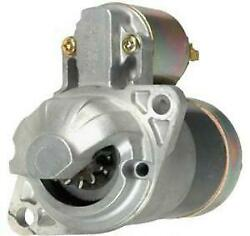 New 12 Volt 9 Tooth 1.2kw Cw Starter Fits Satoh S370 S370d S-370 Beaver Tractor
