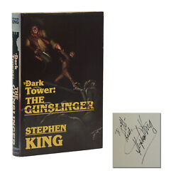 The Dark Tower The Gunslinger Signed By Stephen King Second Edition 1984