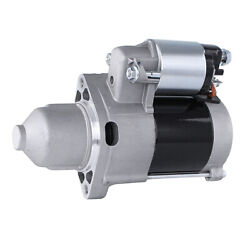 New Starter Motor Fits John Deere Z920a Wh36a Wh48a Wh52a 648r 652r 661r 652r
