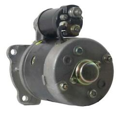 New Cw 2.4kw 9 Tooth Starter Motor Fits Marine Applications Delco 14mt 19010612