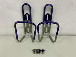 Silca Hydration Sicuro Titanium Limited Water Bottle Cage 2 Cages + 2 Straws
