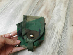 Us Military Molle Ii Woodland Handgrenade Pouch