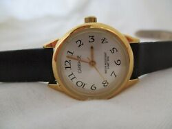 Carriage By Timex Analog Wristwatch With A Buckle Band And Water Resistance