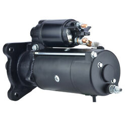 New 10t 12v Starter Fits Ford Tractor 2000 2610 2910 3430 Tw-10 Tw-15 72735919
