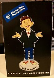 """Vintage Alfred E. Neuman Mad Magazine 14"""" Statue, New In Box – Warner Brothers"""