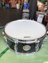 NEW 14x6 Sonor Force 1005 Gloss Black Snare Drum