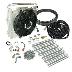 Bd Diesel 1030606-ds-12 Xtrude Double Stacked Auxiliary Transmission Cooler Kit
