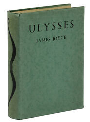 Ulysses By James Joyce First British Trade Edition 1937 1st Print In Jacket