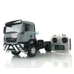 Lesu Man Tgs 42 Rc Tractor Truck Metal 1/14 Chassis Painted Cabin Radio Light