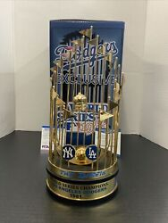 Dodgers 81 World Series Trophy The Infield Signed Cey, Garvey, Lopes Russell