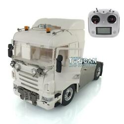 Lesu Metal 44 Scania 1/14 Chassis Sound Hercules Cabin Rc Tractor Truck Radio