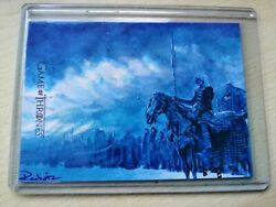 Game Of Thrones Complete Series Limited Signed Sketch Card The Night King .